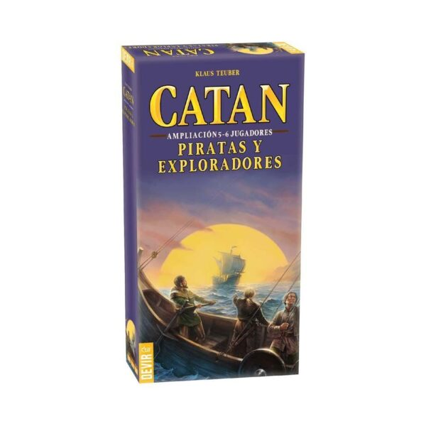 catan ampliacion piratas y exploradores