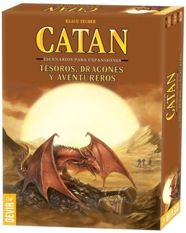 catan tesoros, dragones y aventureros