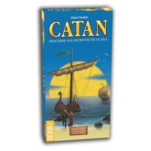 catan navegantes ampliación 5 y 6 jugadores
