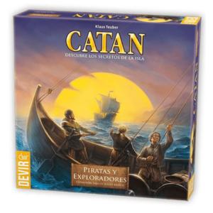 expansion piratas y exploradores catan