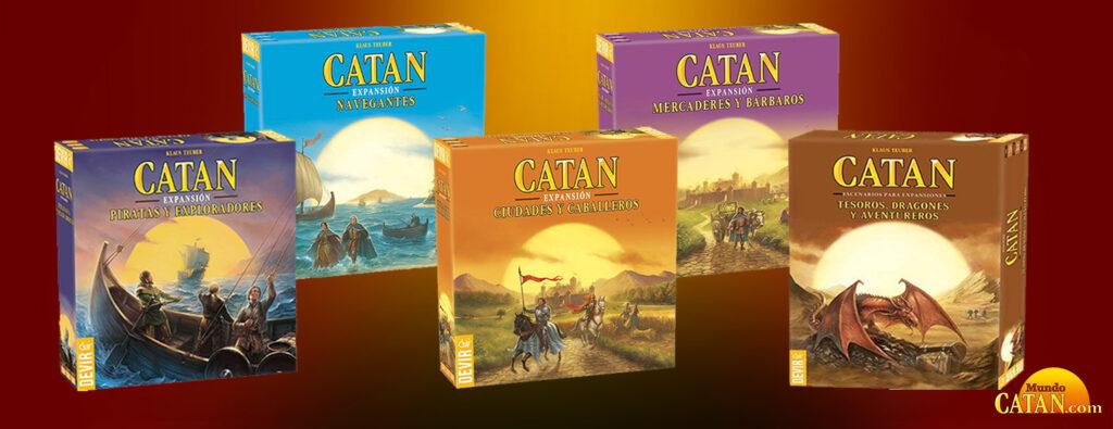 Expansiones de Catán